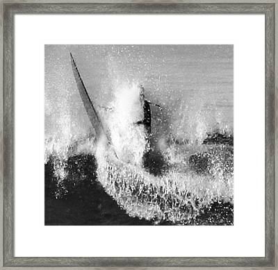 Mouth Washed Framed Print