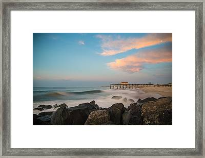 Move Over Moon Framed Print