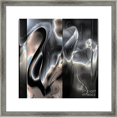 Movement In Art Framed Print by Christine Mayfield