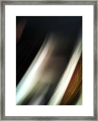 Movement Of Light Framed Print by Mieczyslaw Rudek Mietko