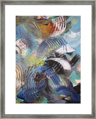 Movement Framed Print