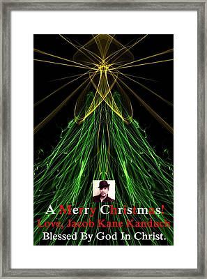 Moveonart A Merry Christmas Love Jacob Kanduch Framed Print by Jacob Kanduch