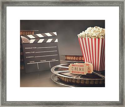 Movie Objects Framed Print