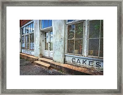 Movie ''hunger Games'' Bakery Framed Print by Marion Johnson