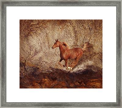 Movin' On Framed Print