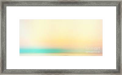 Moving Colors 4 Framed Print by K Hines