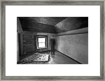 Moving Forward Framed Print by David Hollinger