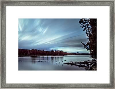 Moving Morning Framed Print by Jon Glaser