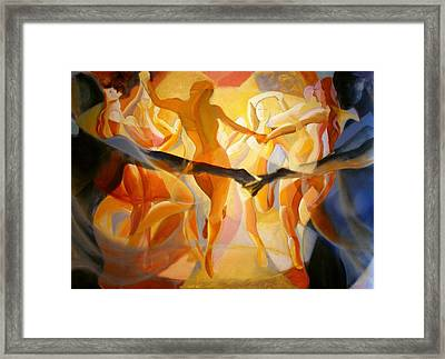 Moving Nimbus Framed Print
