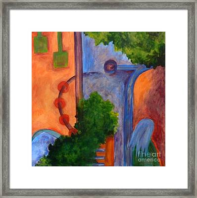 Moving On- Caprian Beauty Series 2 Framed Print by Elizabeth Fontaine-Barr