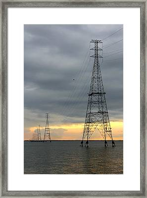 Moving Power Framed Print by Mike McGlothlen