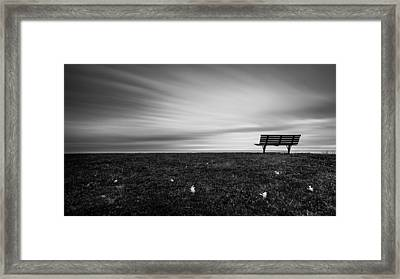 Moving Still Framed Print