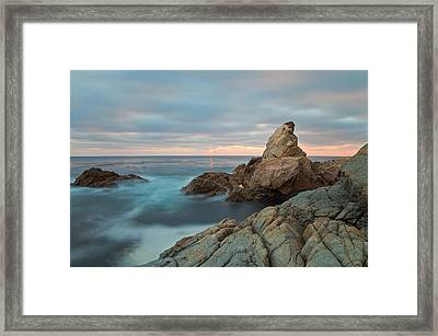Moving Storm Framed Print by Jonathan Nguyen