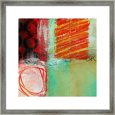 Moving Through 4 Framed Print by Jane Davies
