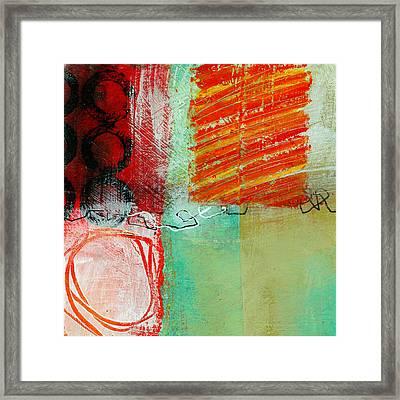 Moving Through 4 Framed Print by Jane Davies