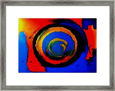 Moving Towards The Light Framed Print by Lisa Kaiser