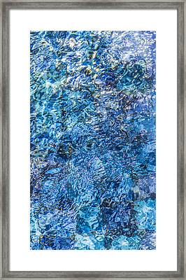 Framed Print featuring the photograph Moving Water 1 by Leigh Anne Meeks