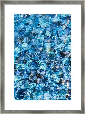 Framed Print featuring the photograph Moving Water 2 by Leigh Anne Meeks
