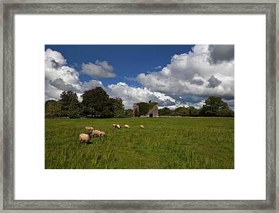 Moyne Castle Near Headford, Probably Framed Print