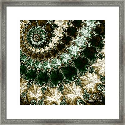 Mozart's Rhythm Framed Print by Mary Machare