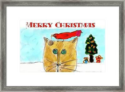 Mprints - Christmas Cheer 1 Framed Print