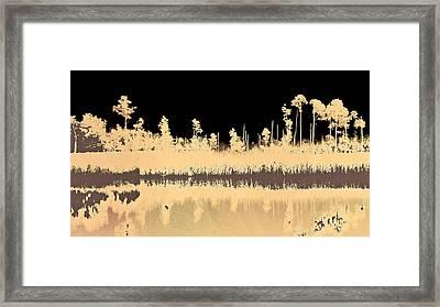 Mprints - Bare Bones Framed Print by M  Stuart