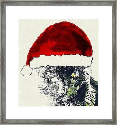 Mprints - Christmas Cheer 12 Framed Print