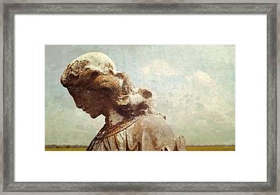 Mprints - Susan's Angel Framed Print by M  Stuart