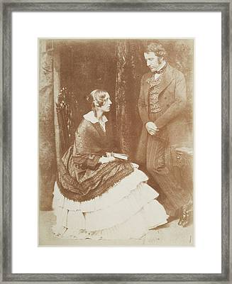 Mr. And Mrs. James Stuart Wortley Framed Print by British Library