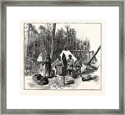 Mr. A.oe. Pratts Travels In Western China And Tibet Framed Print by Chinese School