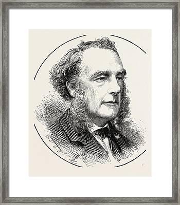 Mr. Arthur Mills Framed Print