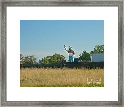 Mr Big Framed Print by Kay Pickens