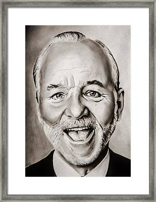 Mr Bill Murray Framed Print