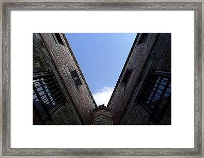 Framed Print featuring the photograph Mr Blue Sky by Richard Reeve