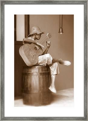 Mr. Bojangles Framed Print by Karen Wiles
