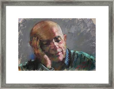 Mr Cela Framed Print