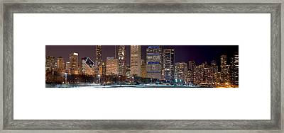 Mr Cub Panorama Framed Print by Kevin Eatinger
