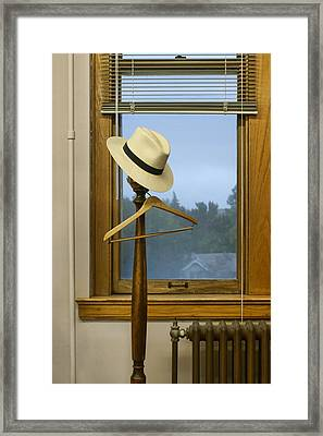 Mr. Daly's Hat Framed Print by Nikolyn McDonald