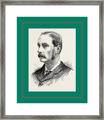 Mr. E. Brodie Hoare New Conservative M.p Framed Print