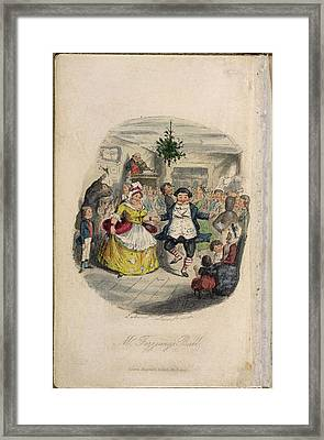 Mr Fezziwig's Ball Framed Print by British Library