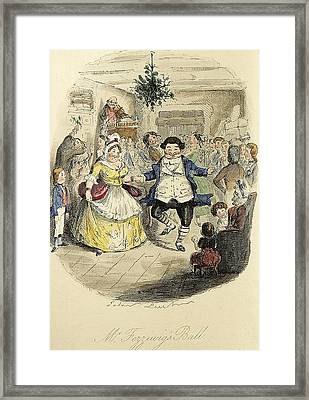 Mr Fizziwigs Ball Framed Print