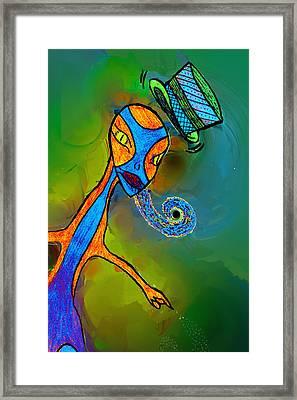 Mr Flutzit Framed Print by Josephine Ring