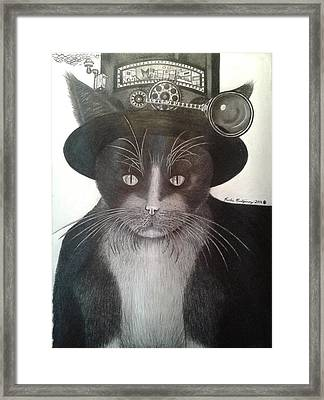 The Wizard Of Fuzz Framed Print by Richie Montgomery