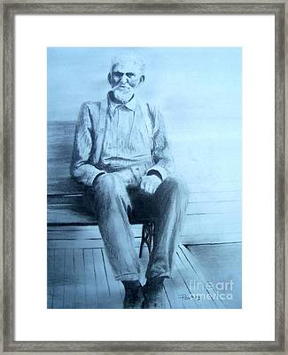 Mr. Higgs Framed Print by Mary Lynne Powers