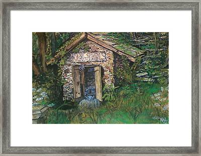 Mr. Hoene's Ghost Framed Print