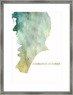 Mr. Holmes Framed Print by Georgia Fowler