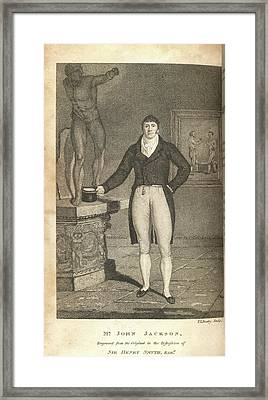 Mr John Jackson Framed Print by British Library