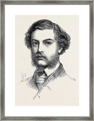 Mr. Jopling Winner Of The Queens Prize The National Rifle Framed Print