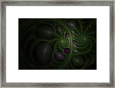 Mr.  Magee Don't Make Me Angry Framed Print by Nadi Leonard
