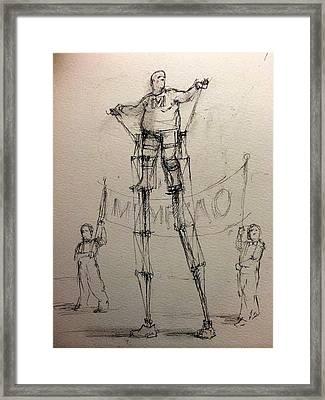 Mr. Mechanical Framed Print by H James Hoff